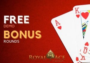 Royal Ace Casino offers free demo and bonus rounds